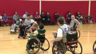 February 18, 2013 - Wheelchair Basketball