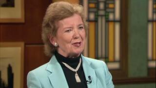 March 05, 2013 - Former Irish President Mary Robinson