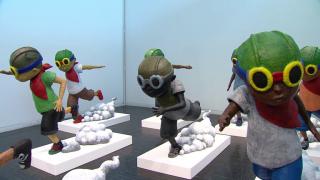 Hebru Brantley's New Art Show Takes Flight in Elmhurst