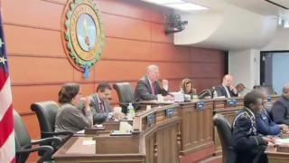 April 03, 2013 - School Board Meeting Held Amid Protests