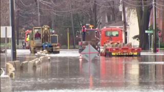 April 18, 2013 - Des Plaines River Flooding
