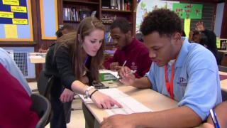 May 2, 2013 - OneGoal Sets High Bar for Low-Income Students