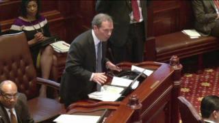 May 9, 2013 - Senate Passes Cullerton's Pension Bill