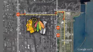June 26, 2013 - Blackhawks Parade Details