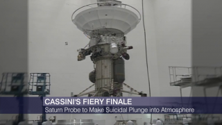 Cassini Spacecraft's Mission to End With Fiery Descent