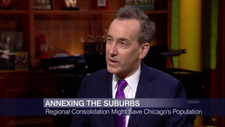 Regional Consolidation Might Save Chicago, Author Says