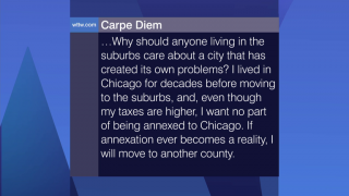 Viewer Feedback: 'I Want No Part of Being Annexed To Chicago