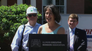 The Illinois Executive Mansion Gets a Makeover
