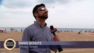 Chicagoans Come Together to View Eclipse