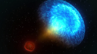 Astronomers Detect Colliding Neutron Stars
