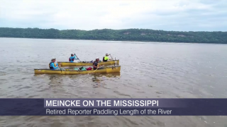 Retired ABC7 Reporter Paddling Length of Mississippi River