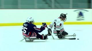 September 19, 2013 - Sled Hockey