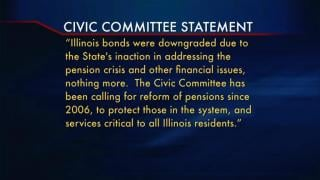 July 25, 2013 - Was Bond Rating Lowered by Lobbying?