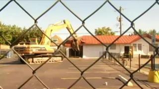 August 19, 2013 - Whittier Field House Demolished