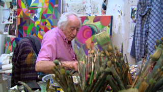 September 11, 2013 - Abstract Painter Morris Barazani