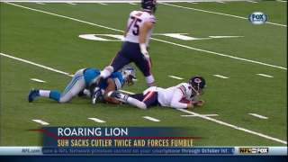 "September 30, 2013 - ""Big Cat"" Williams on Bears vs. Lions"