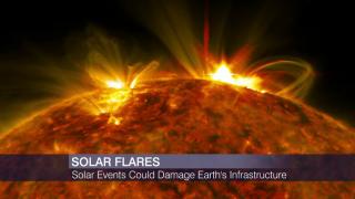 Scientist Warns Solar Flares Could Devastate Infrastructure