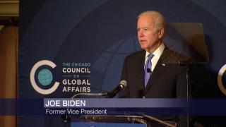Joe Biden Sounds Alarm on Trump and Russia in Chicago Speech
