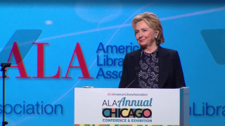 Hillary Clinton Addresses Importance of Literacy in Speech t