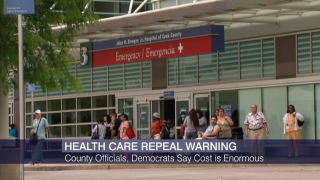 Cook County Warns About Obamacare Repeal