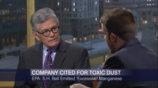 EPA Cites S.H. Bell for 'Excessive Manganese Emissions'