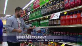 Cook County Board to Consider Repeal of Soda Tax