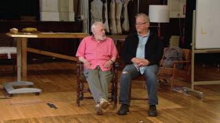 John Mahoney, Francis Guinan Discuss 'The Rembrandt'
