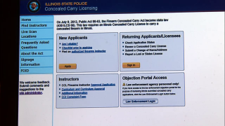 December 30, 2013 - Concealed Carry Application Process