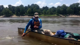 Paul Meincke Nears End of Mississippi River Trip