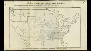 """346 Blots of Shame on the United States."" Chicago: Rand McNally and Company, 1922"