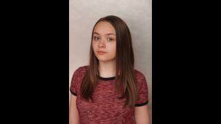 Fourteen-year-old theater critic Ada Grey. (Courtesy of Ada Grey)