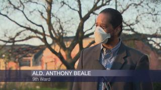 """Ald. Anthony Beale appears on """"Chicago Tonight"""" on Tuesday, May 12, 2020. (WTTW News)"""