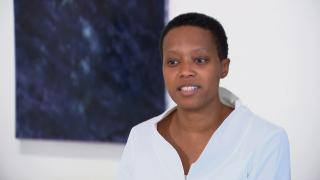 Chicago-based artist and architect Amanda Williams. (WTTW News)