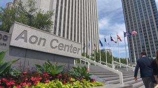 The Aon Center in Chicago. (WTTW News)