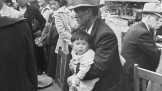"""A still image from the PBS series """"Asian Americans."""""""