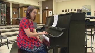 Buffalo High School Orchestra Director Elizabeth Bennett