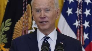 President Joe Biden speaks during a news conference in the East Room of the White House, Thursday, March 25, 2021, in Washington. (AP Photo / Evan Vucci)