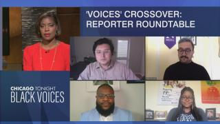Brandis Friedman hosts a Black Voices/Latino Voices crossover with Chicago journalists on the mayor's budget proposal. (WTTW News)