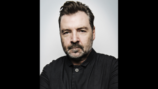 """British actor Brendan Coyle is making his Chicago debut in the Goodman Theatre's production of """"St. Nicholas."""" (Courtesy Goodman Theatre)"""