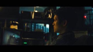 "Harry Shum Jr. plays AV tech whiz James in ""Broadcast Signal Intrusion"" (Courtesy Dark Sky Films)"