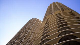 "Marina City makes a cameo in the 2018 film ""Rampage."" (Roman Boed / Flickr)"