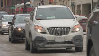 Chicago traffic (WTTW News)