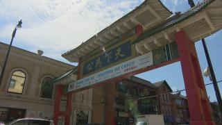 Restaurants and businesses in Chinatown prepare to reopen on Thursday, June 24, 2020, the eve of Chicago's transition into phase four. (WTTW News)