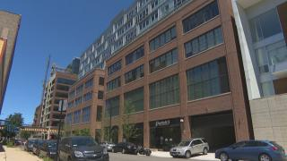 Co-living facility Quarters is located in the Fulton Market district. (Chicago Tonight)