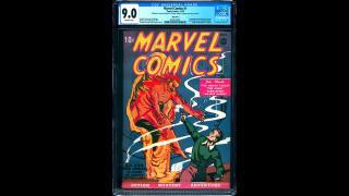 Marvel Comics #1 CGC 9.0 Pay Copy $1,000,000.00 The Pay Copy Pedigree (Courtesy Vincent Zurzolo)