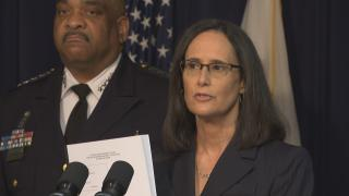 """Today is an historic day for the city of Chicago,"" said Illinois Attorney General Lisa Madigan on Thursday, Sept. 13, 2018. ""This morning, we have filed a proposed consent decree with the federal court that will lead to real and lasting reform of the Chicago Police Department."""
