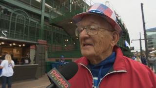 "Cubs fan Dennis Zygmunt: ""I've been following the Cubs for 70 years … Win or lose tonight, I'll be very happy."""