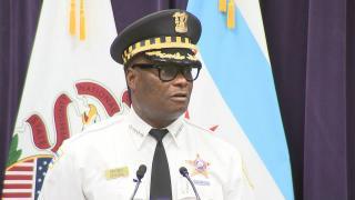 Chicago police Superintendent David Brown (WTTW News)