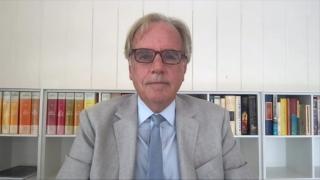 Dr. Robert Murphy is the director of the Institute for Global Health at Northwestern University's Feinberg School of Medicine. (WTTW News)