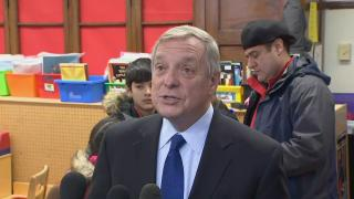 """I stick with my original interpretation,"" Sen. Dick Durbin said Monday. ""I am stunned that this is their defense."""